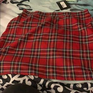 Dresses & Skirts - Plaid Skirt